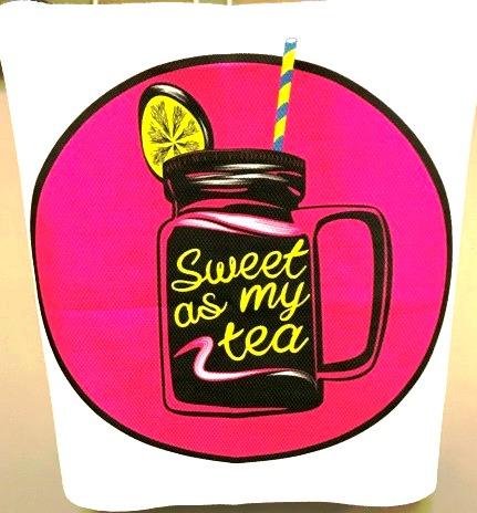 CHS LUV Sweet Tea Towel