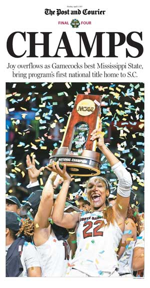USC Women's Basketball National Champs