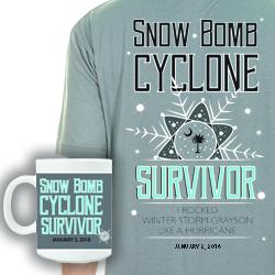 Snow Bomb 2018 Memorabilia
