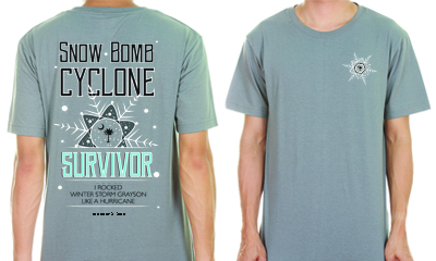 Snow Bomb Cyclone T-Shirt