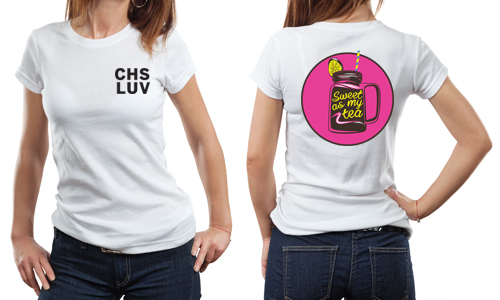 CHS LUV Sweet Tea T-shirt