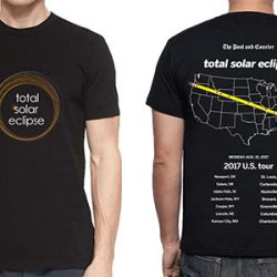Total Solar Eclipse Path T-Shirt
