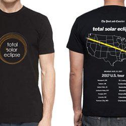 Total Solar Eclipse Path T-Shirt