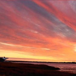 Charleston Harbor Sunset